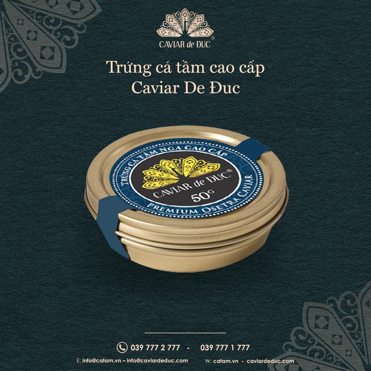 Premium Osetra Caviar